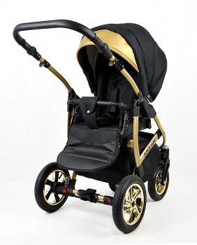 Kočárek Raf-Pol Baby Lux Gold Lux v provedení Onyx