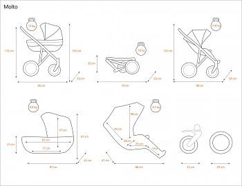 Kočárek Raf-Pol Baby Lux Avaro v provedení 01