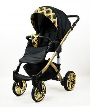 Kočárek Baby Lux Lumio v provedení Gold Rainbow