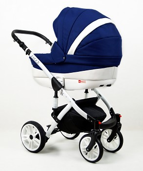 Kočárek Raf-Pol Baby Lux Lilly v barvě Sailor blue