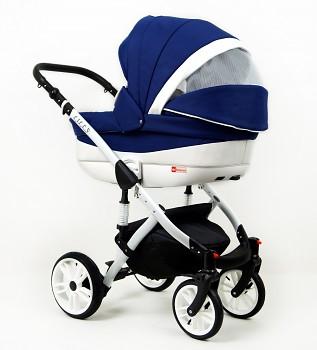 Kočárek Raf-Pol Baby Lux Lilly v provedení blue
