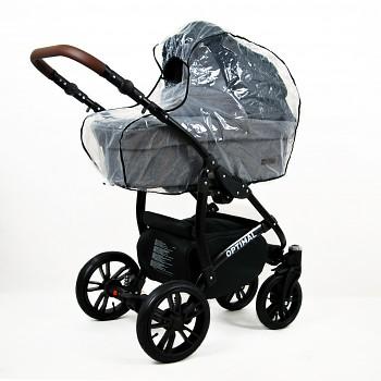 Kočárek Baby Lux Optimal Black v provedení Black Grey