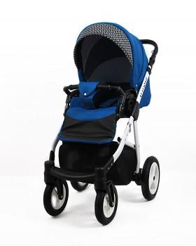 Kočárek Raf-Pol Baby Lux Alu Way v provedení Indygo