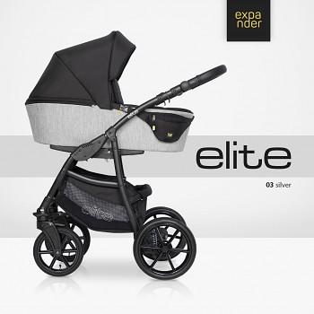 Kočárek Expander Elite 03 Silver