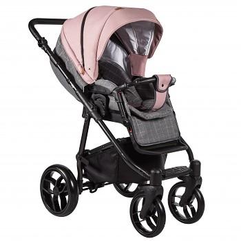 Kočárek Baby Merc La Noche 01B šedá + růžová 2020