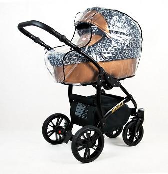 Kočárek Baby Lux Miracle v provedení Optical Copper