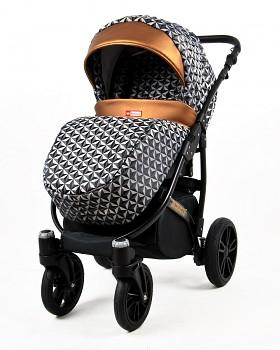 Kočárek Raf-Pol Baby Lux Miracle Optical Copper
