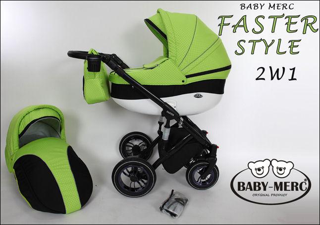 Kočárky Baby Merc Faster Style