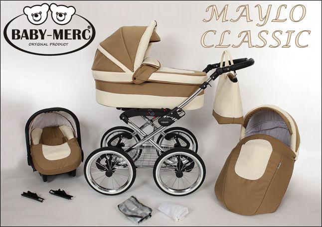 kočárky Baby Merc Maylo Classic