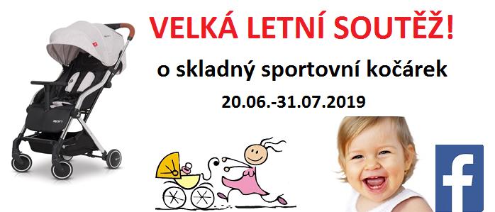Soutěž na facebooku kočárky Kifik.cz