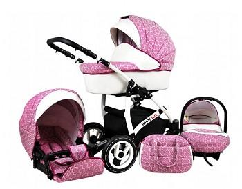 BabyLux White Lux Dark Pink