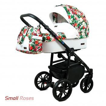 BabyLux Colorlux Black Small Roses