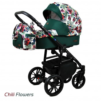 BabyLux Colorlux Black Chili Flowers