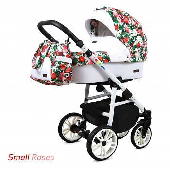 BabyLux Colorlux White Small Roses
