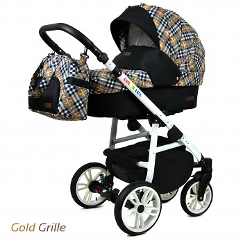 BabyLux Colorlux White Gold Grille