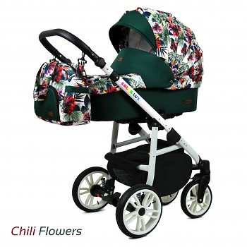 BabyLux Colorlux White Chili Flowers