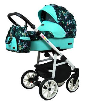 BabyLux Colorlux White Green Garden
